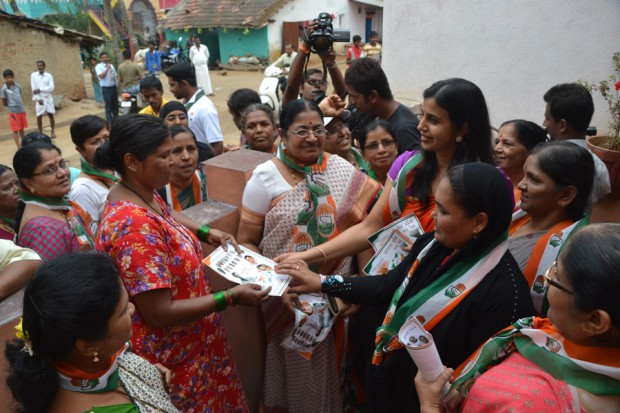 Manjunath-Bhandary-Election-Campaign-2014-32